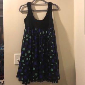 DVF polka dot dress
